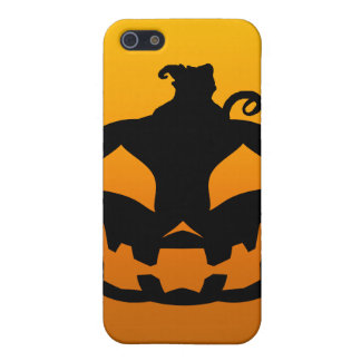 Pumpkin Happy Cover For iPhone SE/5/5s
