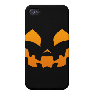 Pumpkin Happy Covers For iPhone 4