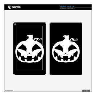 Pumpkin Happy Decal For Kindle Fire