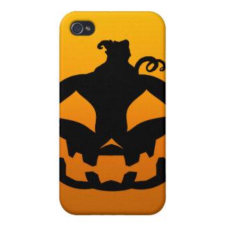 Pumpkin Happy iPhone 4/4S Covers