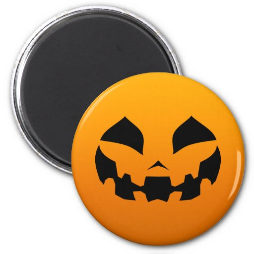 Pumpkin Happy Magnet