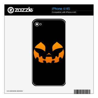 Pumpkin Happy Skin For The iPhone 4S