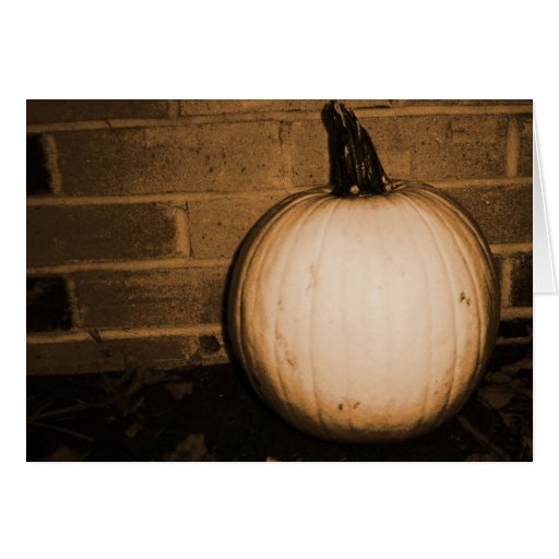 Pumpkin Harvest Greeting Cards