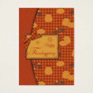 Pumpkin Harvest Gift Tag