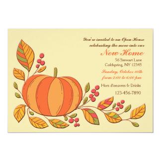 Pumpkin Harvest Invitation