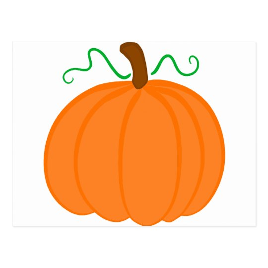 Pumpkin Harvest Postcard
