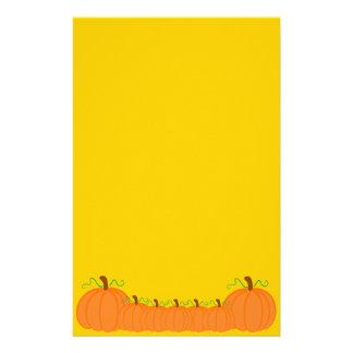 Pumpkin Harvest Stationery Design