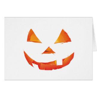 Pumpkin Head Card