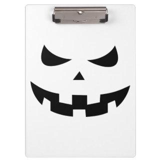 Pumpkin head clipboards