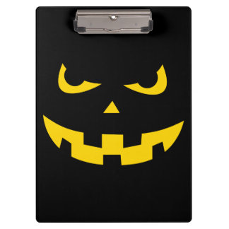 Pumpkin head clipboard