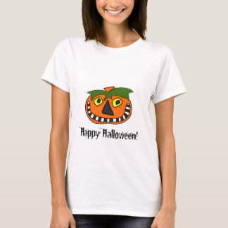 Pumpkin Head Trick or Treat T-Shirt