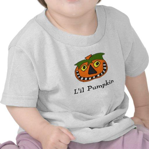 Pumpkin Head Trick or Treat T Shirts