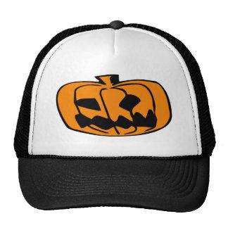 Pumpkin Head Trucker Hat