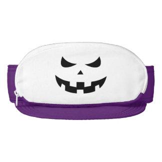 Pumpkin head visor