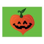 Pumpkin Heart Postcard