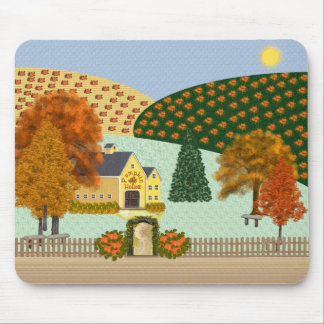 Pumpkin Hollow Mouse Pad