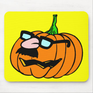 Pumpkin in Disguise Mouse Pad