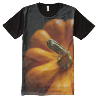 Pumpkin in the Fall All-Over Print T-shirt