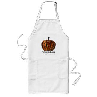 Pumpkin Inside Apron