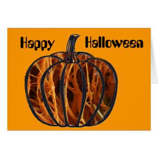 Pumpkin Inside Card
