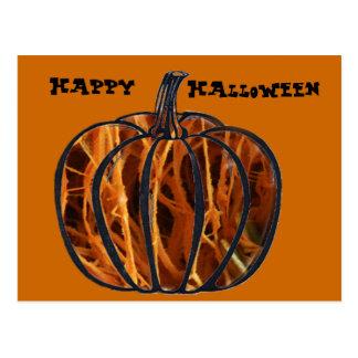 Pumpkin Inside Postcard