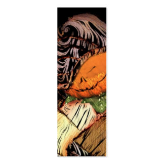 Pumpkin Jack Bookmark Double-Sided Mini Business Cards (Pack Of 20)