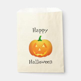 Pumpkin Jack Customizable Favor Bag