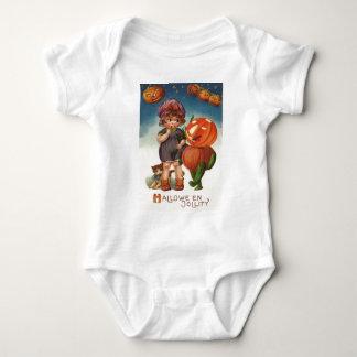 Pumpkin Jack O Lantern Cat Girl T-shirt