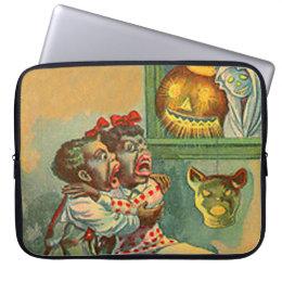 Pumpkin Jack O Lantern Ghost Computer Sleeve