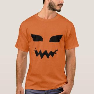 Pumpkin Jack o Lantern Halloween Scary Face T-Shirt