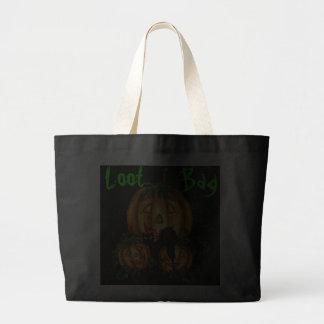 PUMPKIN JACKS, BLACK CAT LOOT BAG by SHARON SHARPE