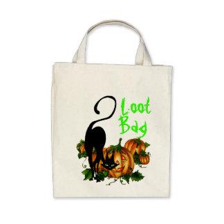 PUMPKIN JACKS, CAT LOOT BAG 2 by SHARON SHARPE