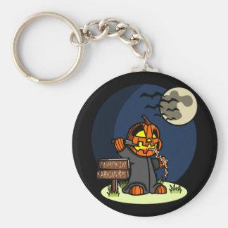 Pumpkin Karving Keychain