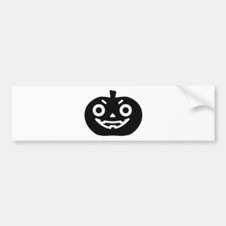 Pumpkin ke bumper sticker