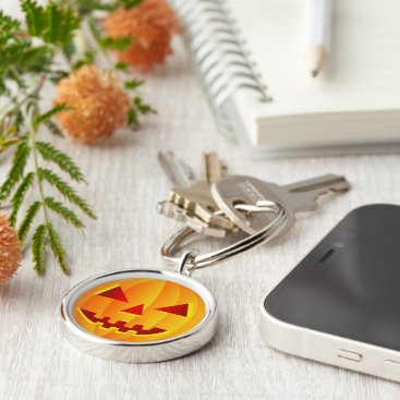 Halloween Themed Pumpkin | Key Chain. Keychain