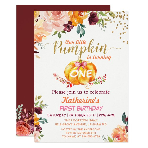 cute floral birthday party invitations for kids mimoprints