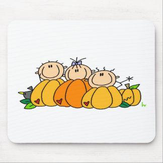 Pumpkin Kids Mouse Pads