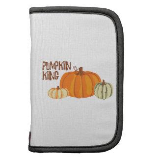 Pumpkin King Folio Planner