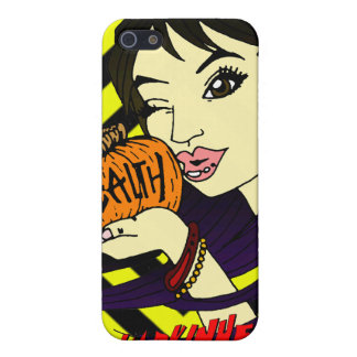 Pumpkin Kiss iPhone 4 Speck Case Cover For iPhone 5