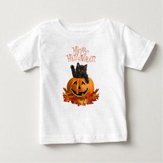 Pumpkin Kitty Baby T-Shirt