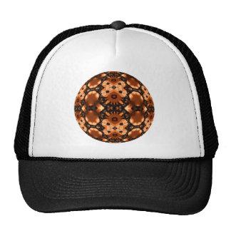 Pumpkin Lace Kaleidoscope Mandala Mesh Hats