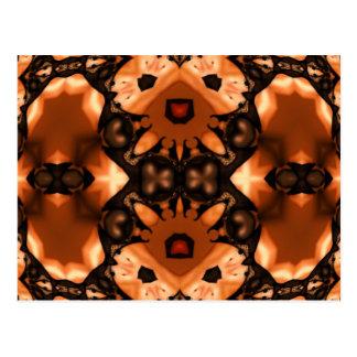 Pumpkin Lace Postcard