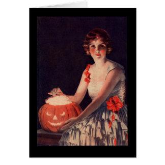 Pumpkin Lady Card
