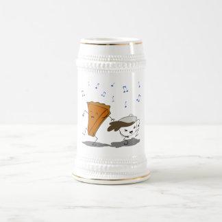 Pumpkin Latte Dance Beer Stein