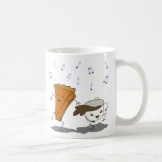 Pumpkin Latte Dance Coffee Mug
