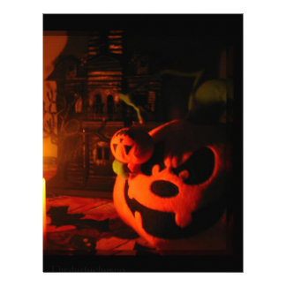 Pumpkin Light Letterhead