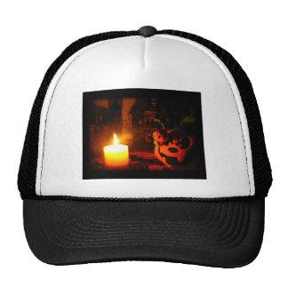 Pumpkin Light Trucker Hat