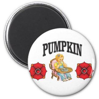 pumpkin little girl magnet