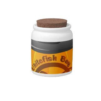 Pumpkin Logo 2016 Candy Jar