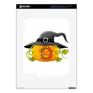 Pumpkin Logo 2016 Decal For iPad 3
